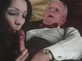 Granny sucking grandpa dick on webcam skype